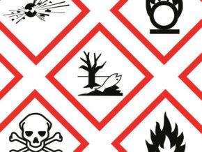 pericolosità sostanze chimiche e pittogrammi