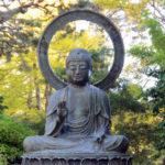 Buddha Japanese tea garden San Francisco